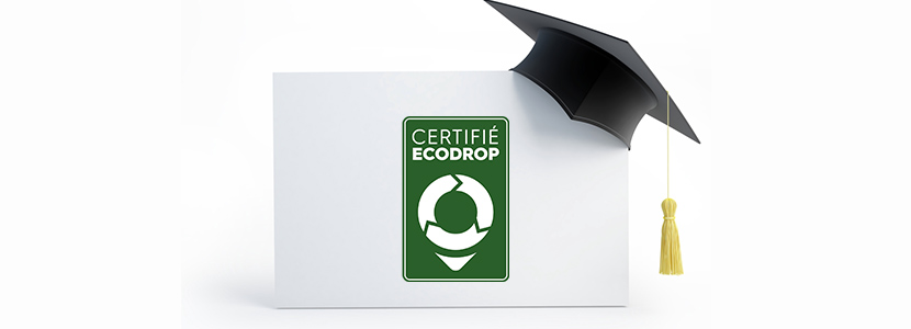 Avantage certification Ecodrop